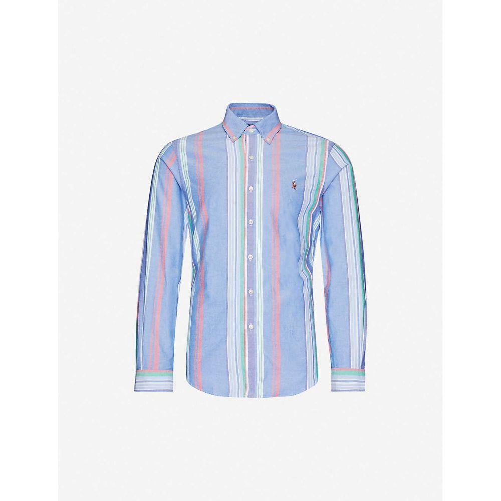 ラルフ ローレン POLO RALPH LAUREN メンズ シャツ トップス【Striped slim-fit cotton shirt】MULTI
