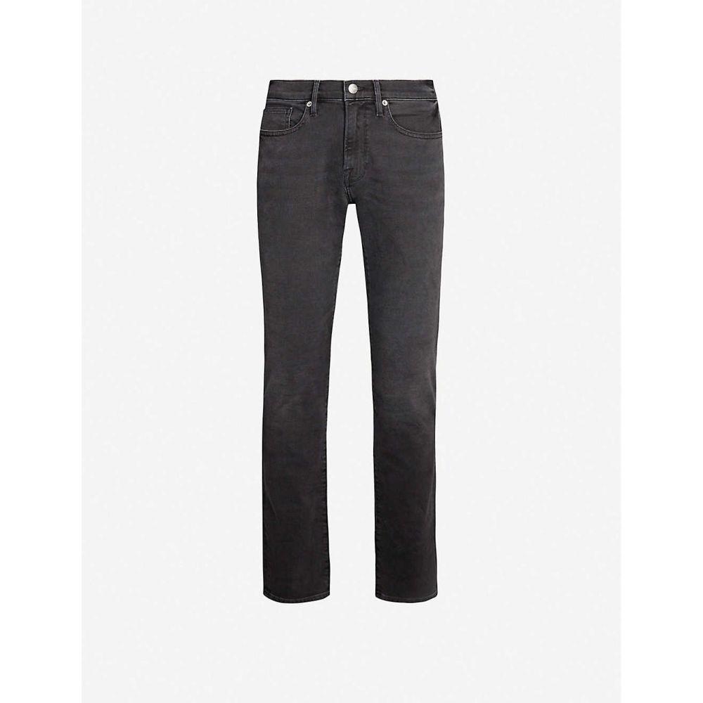 フレーム FRAME メンズ ジーンズ・デニム ボトムス・パンツ【L Homme faded slim-fit jeans】Fade To Grey