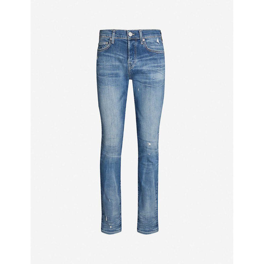 トゥルー レリジョン TRUE RELIGION メンズ ジーンズ・デニム ボトムス・パンツ【Rocco skinny-fit faded jeans】Denim blue