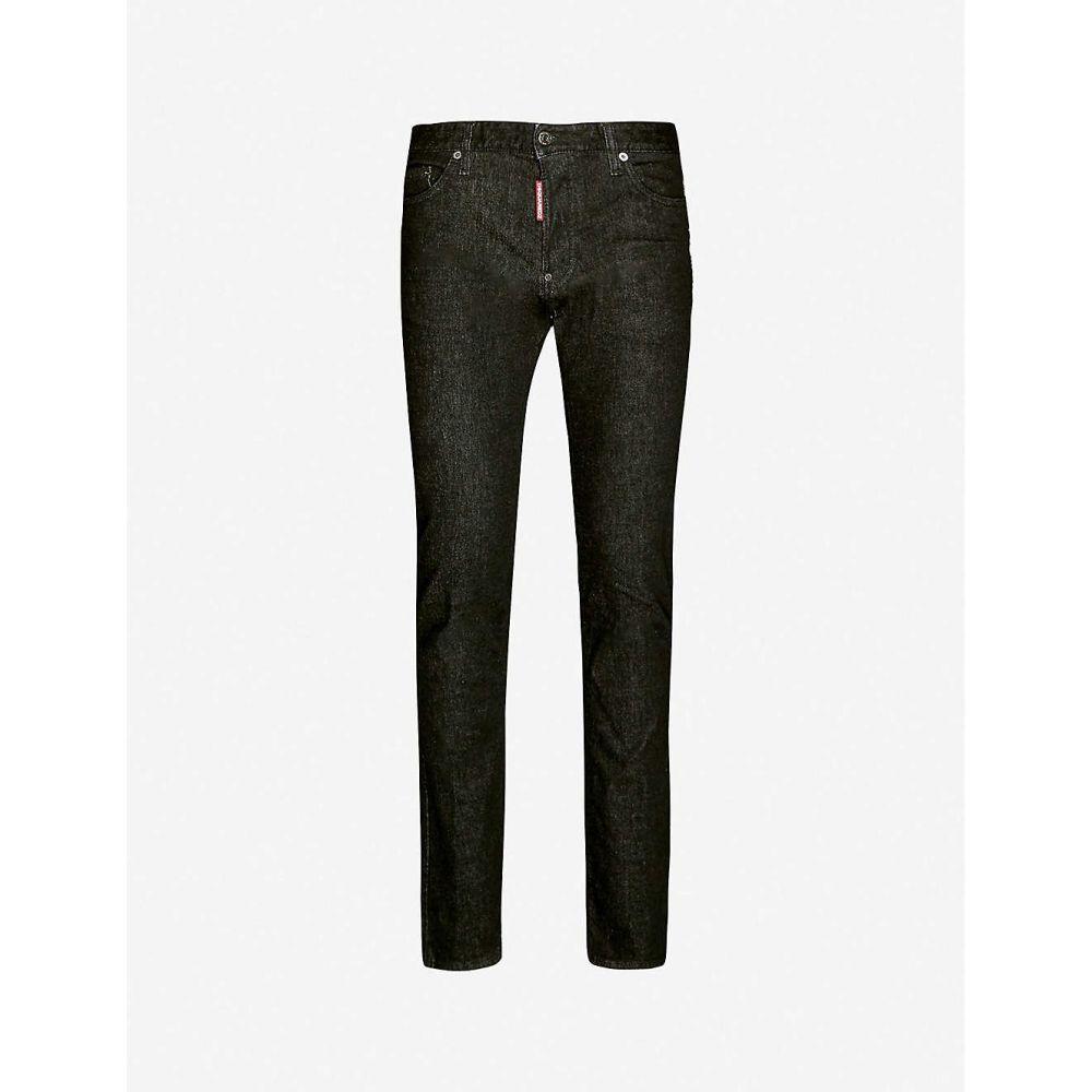 ディースクエアード DSQUARED2 メンズ ジーンズ・デニム ボトムス・パンツ【Straight slim jeans】BLACK