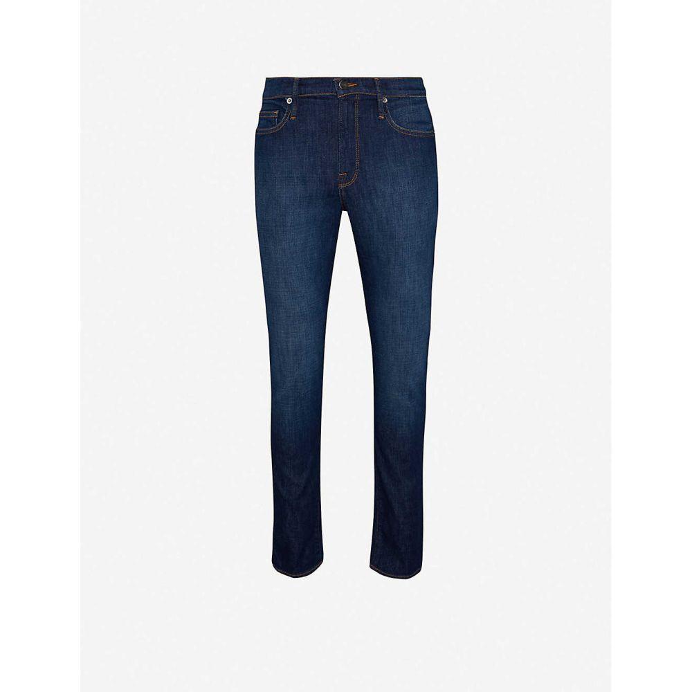 フレーム FRAME メンズ ジーンズ・デニム ボトムス・パンツ【L Homme slim stretch-denim jeans】DARK BLUE