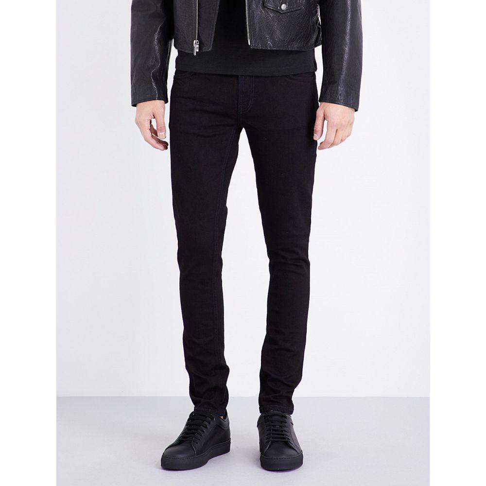 ヌーディージーンズ NUDIE JEANS メンズ ジーンズ・デニム ボトムス・パンツ【Skinny Lin slim-fit skinny jeans】BLACK BLACK