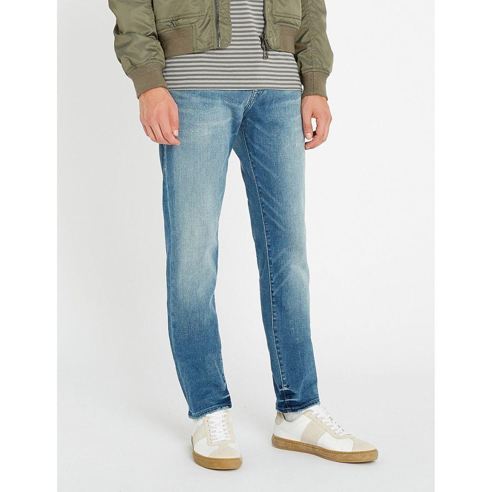 トゥルー レリジョン TRUE RELIGION メンズ ジーンズ・デニム ボトムス・パンツ【Rocco relaxed-fit faded skinny jeans】Foum baseline