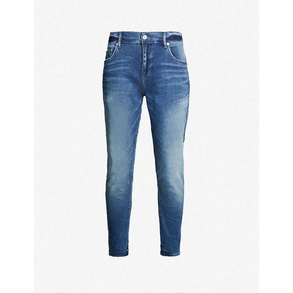トゥルー レリジョン TRUE RELIGION メンズ ジーンズ・デニム ボトムス・パンツ【Rocco slim-fit jeans】Foum baseline