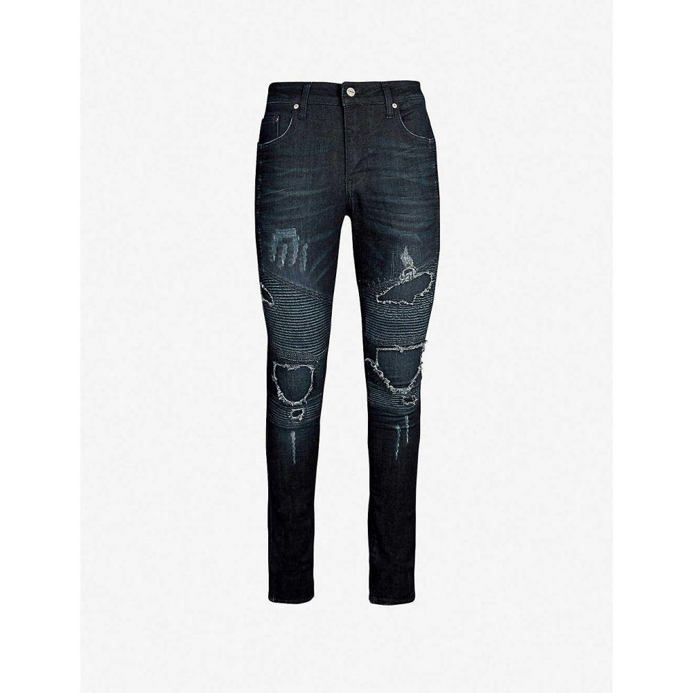 リプレゼント REPRESENT メンズ ジーンズ・デニム ボトムス・パンツ【Biker tapered jeans】Indigo