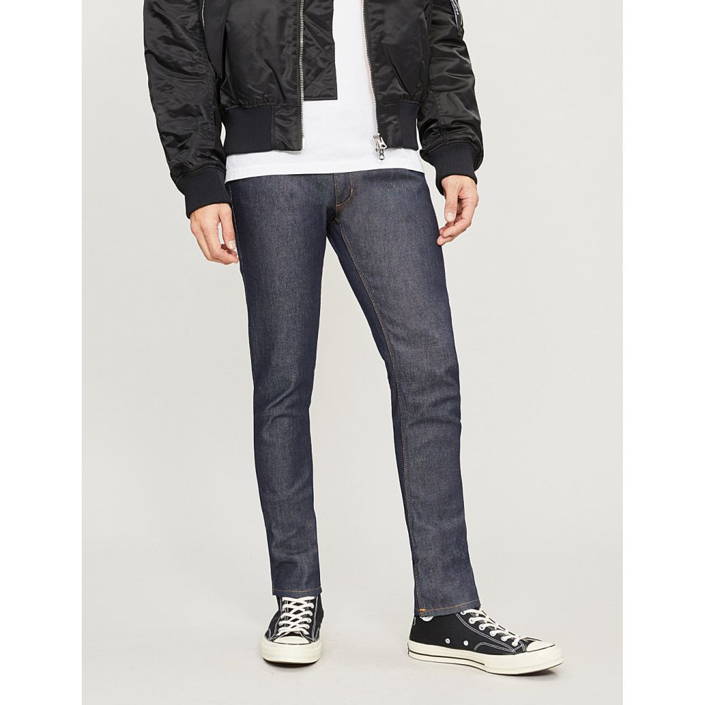 アクネ ストゥディオズ ACNE STUDIOS メンズ ジーンズ・デニム ボトムス・パンツ【Max faded regular-fit straight jeans】Indigo
