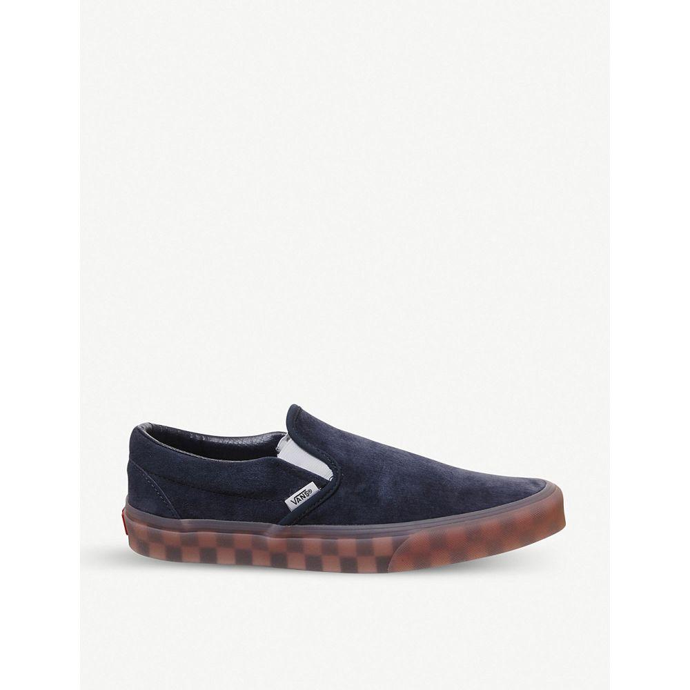 ヴァンズ VANS メンズ スリッポン・フラット シューズ・靴【Classic slip on suede skate shoes】PARISIAN NIGHT