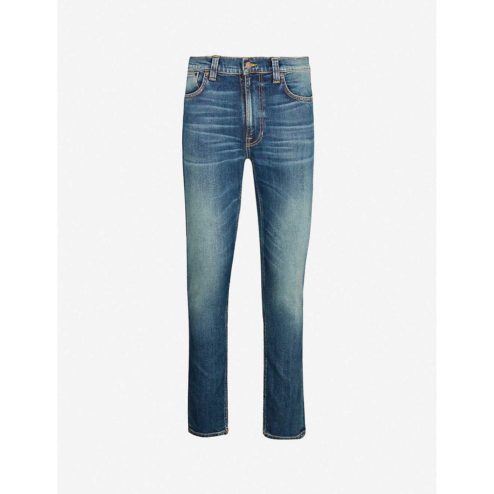 ヌーディージーンズ NUDIE JEANS メンズ ジーンズ・デニム ボトムス・パンツ【Lean Dean slim-fit tapered jeans】Indigo shades