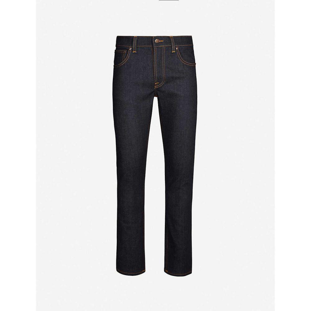 ヌーディージーンズ NUDIE JEANS メンズ ジーンズ・デニム ボトムス・パンツ【Grim Tim straight jeans】Dry True Navy