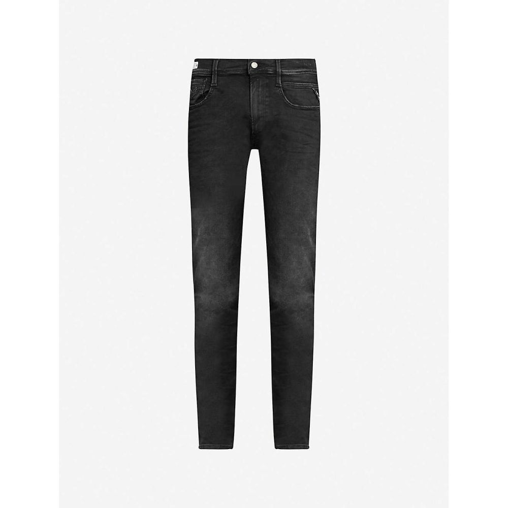 リプレイ REPLAY メンズ ジーンズ・デニム ボトムス・パンツ【Hyperflex slim jeans】Black