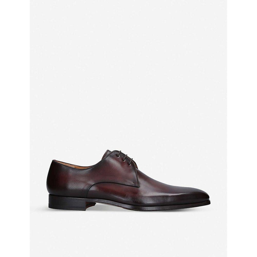 マグナーニ MAGNANNI メンズ 革靴・ビジネスシューズ ダービーシューズ シューズ・靴【Derby leather shoes】MID BROWN