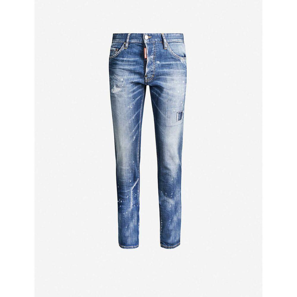 ディースクエアード DSQUARED2 メンズ ジーンズ・デニム ボトムス・パンツ【Cool Guy stretch-denim jeans】BLUE