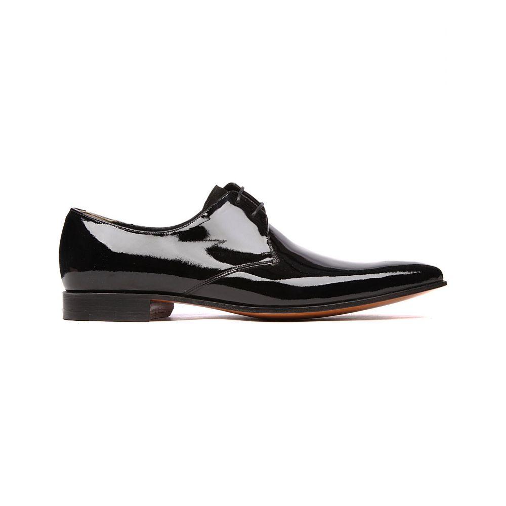 バーカー BARKER メンズ 革靴・ビジネスシューズ ダービーシューズ シューズ・靴【Goldington patent Derby shoes】Black