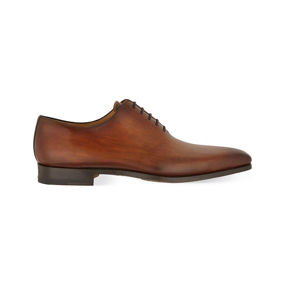 マグナーニ MAGNANNI メンズ 革靴・ビジネスシューズ シューズ・靴【Wholecut Oxford shoes】Tan