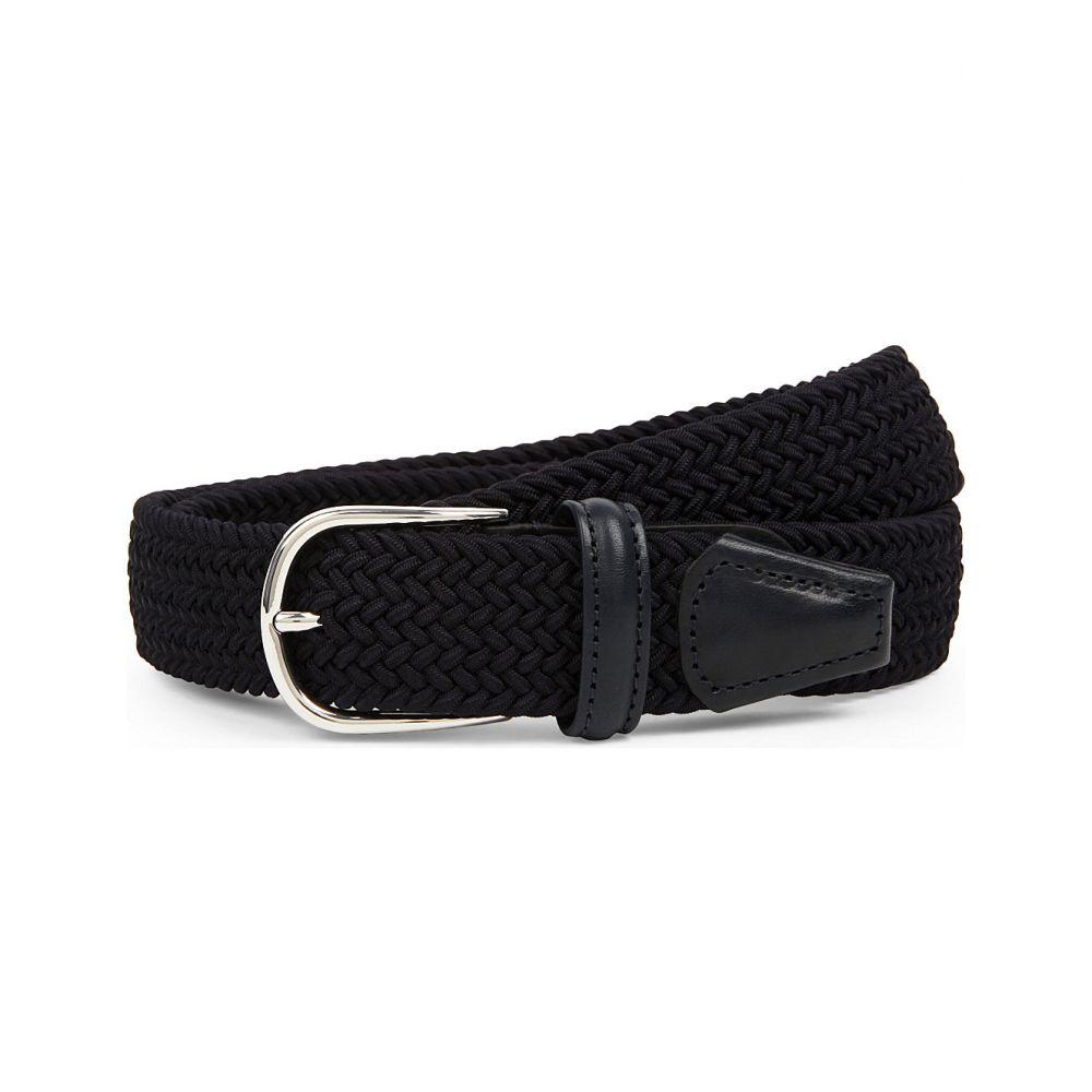 アンダーソンズ ANDERSONS メンズ ベルト 【Elasticated woven belt】Navy