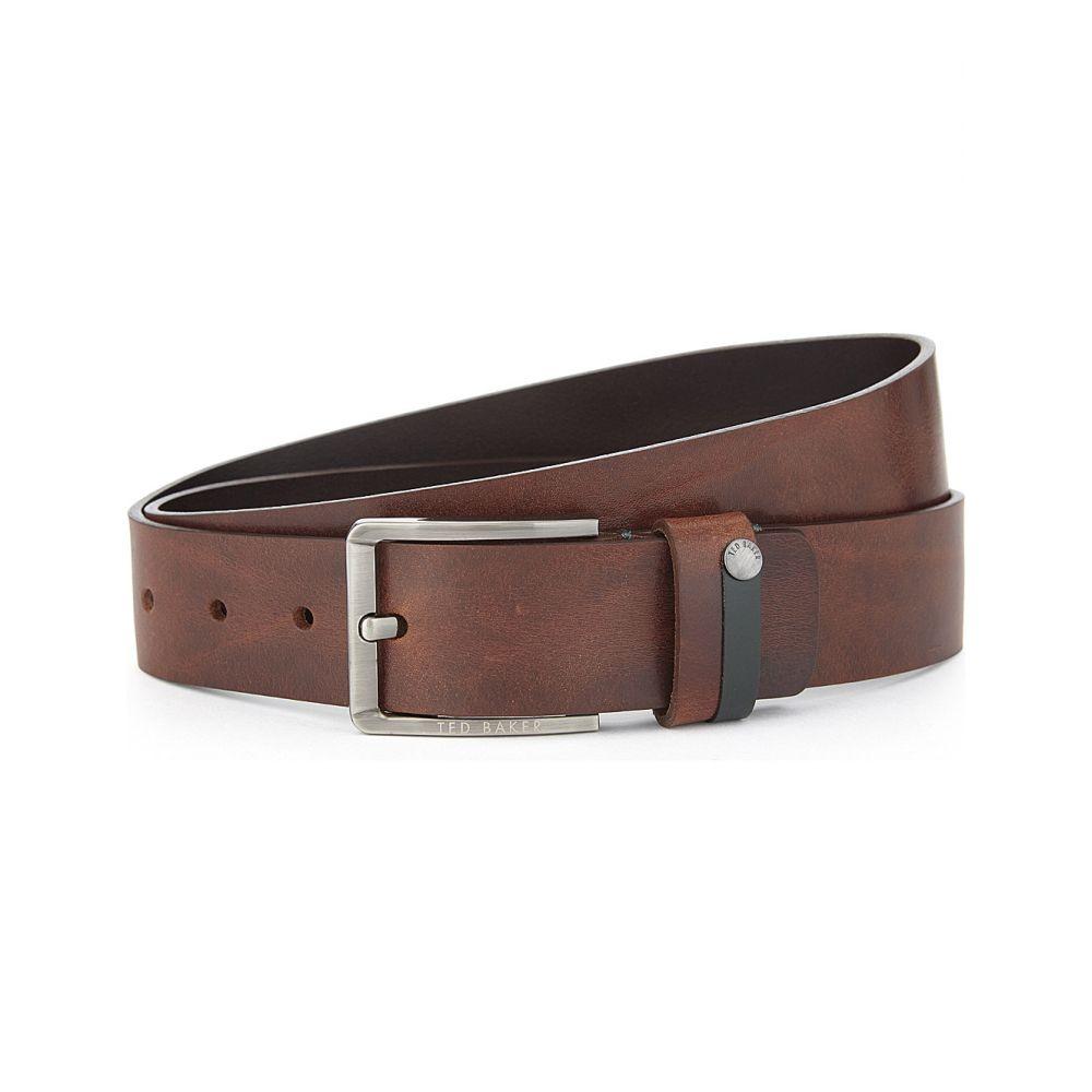 テッドベーカー TED BAKER メンズ ベルト 【Keepsak leather belt】Tan