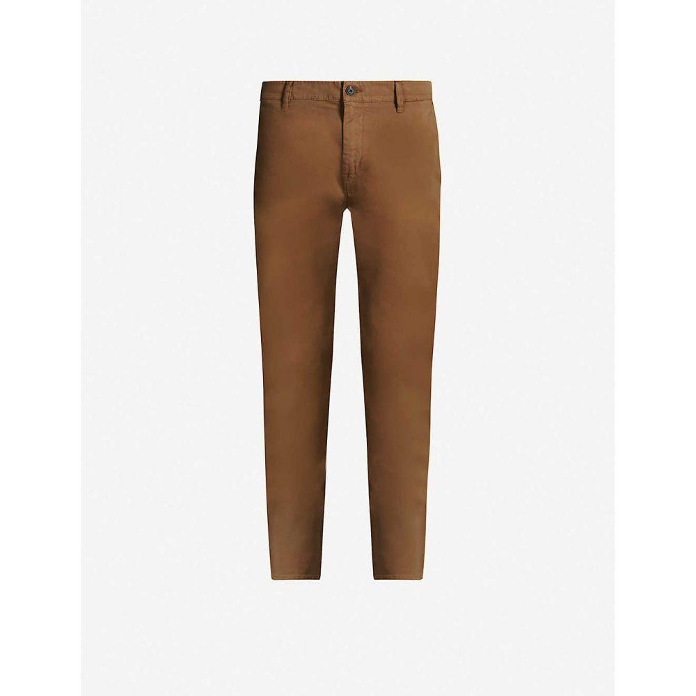 ヒューゴ ボス BOSS メンズ チノパン ボトムス・パンツ【Slim-fit stretch-cotton chinos】Open beige
