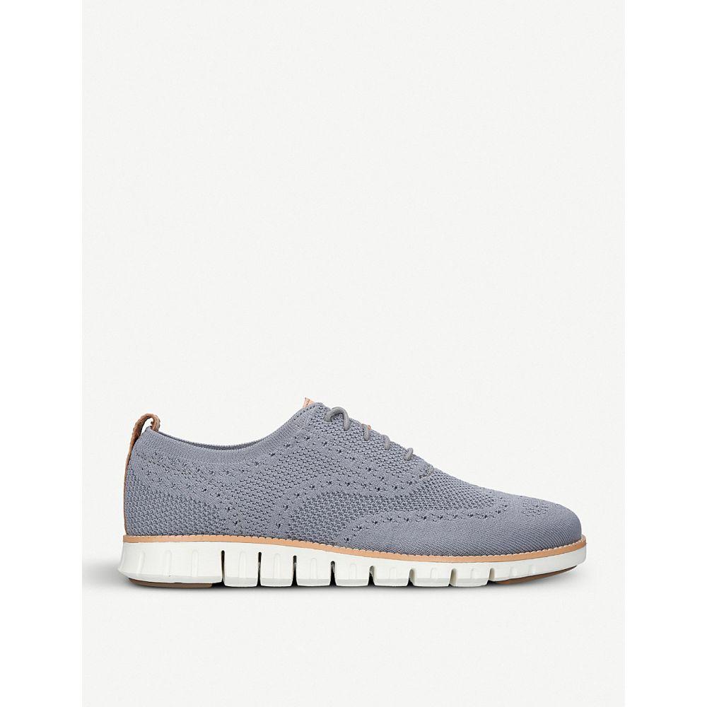 コールハーン COLE HAAN メンズ 革靴・ビジネスシューズ シューズ・靴【Zerogrand Stitchlite knit oxford shoes】GREY/P.CMB