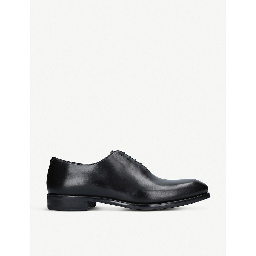 マグナーニ MAGNANNI メンズ 革靴・ビジネスシューズ シューズ・靴【Flex Wholecut leather oxford shoes】Black