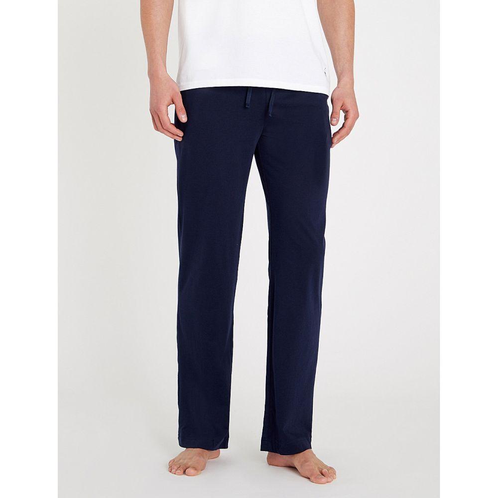 ラルフ ローレン POLO RALPH LAUREN メンズ パジャマ・ボトムのみ インナー・下着【Cotton-jersey pyjama bottoms】Cruise navy