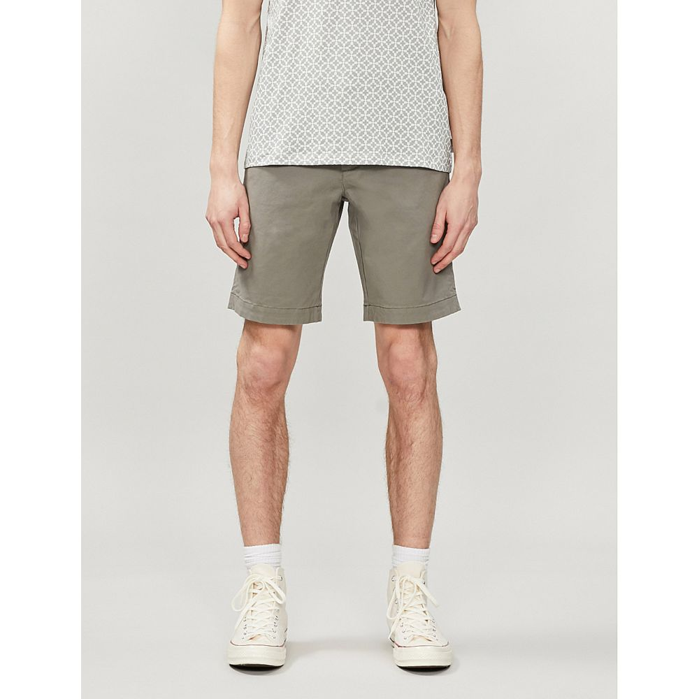 テッドベーカー TED BAKER メンズ チノパン ボトムス・パンツ【Selshor stretch-cotton chino shorts】OLIVE