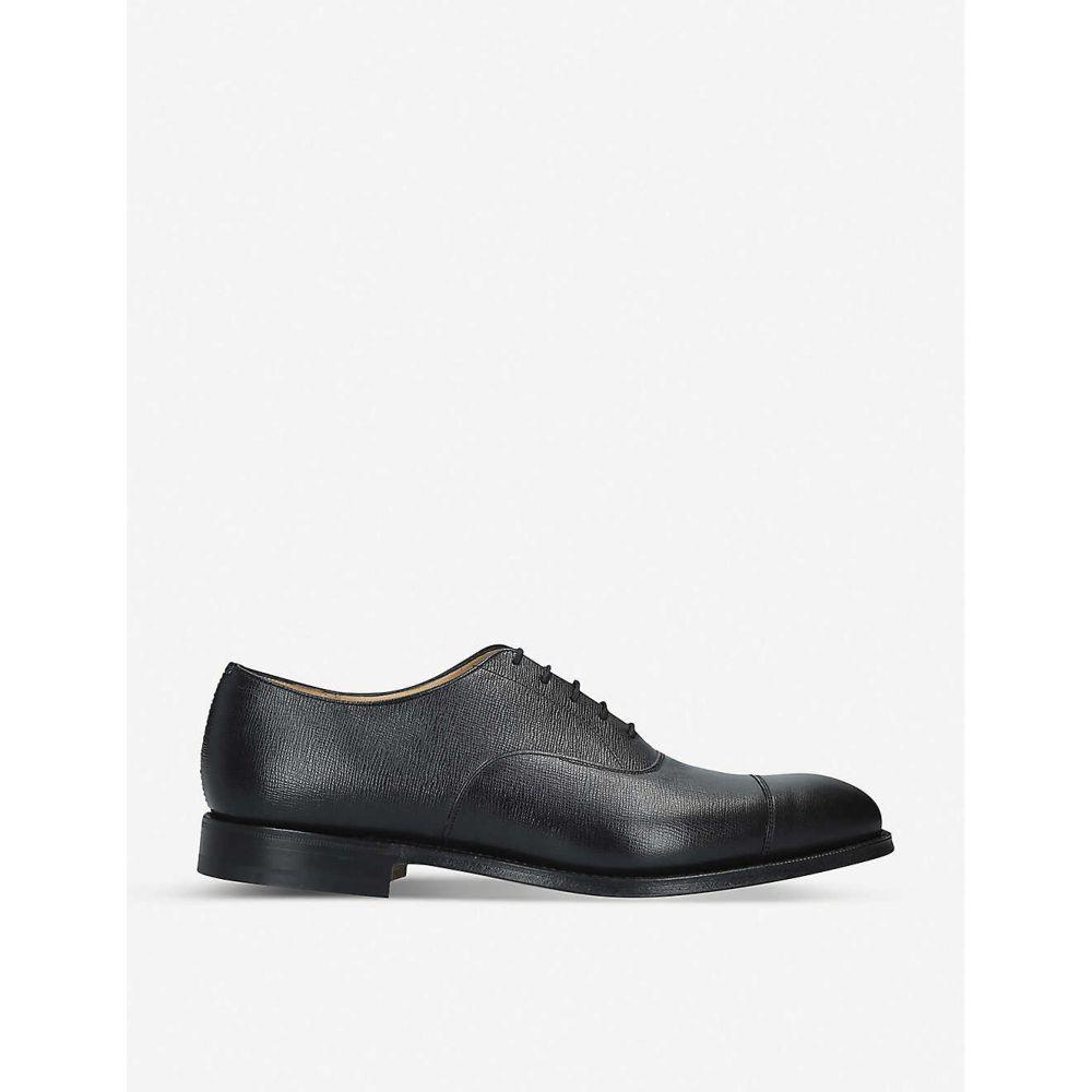 チャーチ CHURCH メンズ 革靴・ビジネスシューズ シューズ・靴【Consul St James leather Oxford shoes】Black