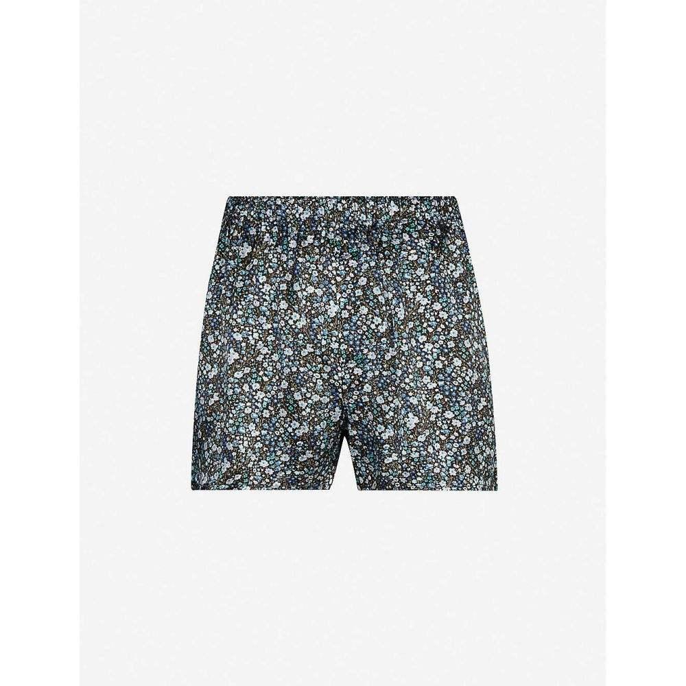 サンスペル SUNSPEL メンズ ボクサーパンツ インナー・下着【Floral-print silk boxers】MULTI