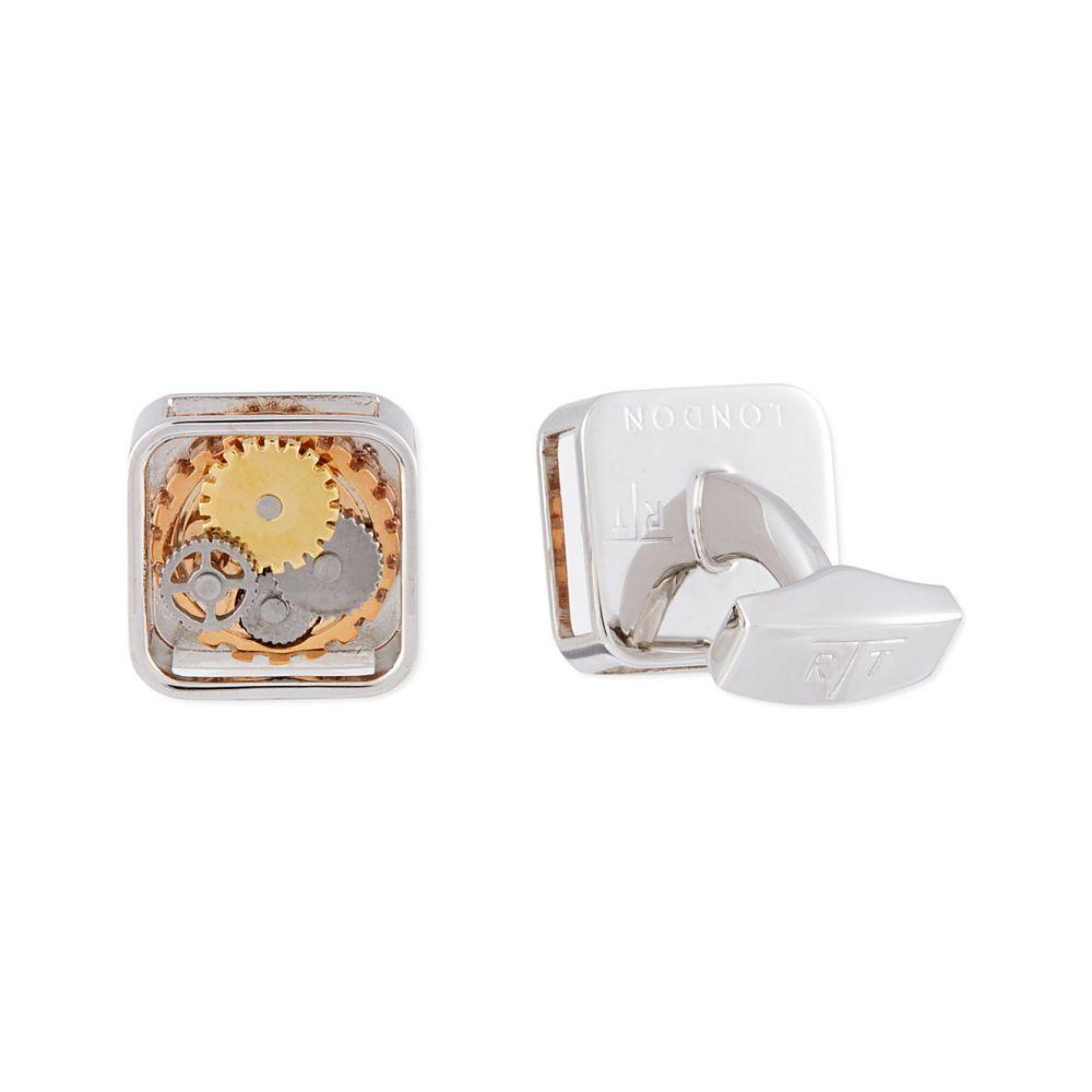 タテオシアン TATEOSSIAN メンズ カフス・カフリンクス 【Square Gear cufflinks】Multi