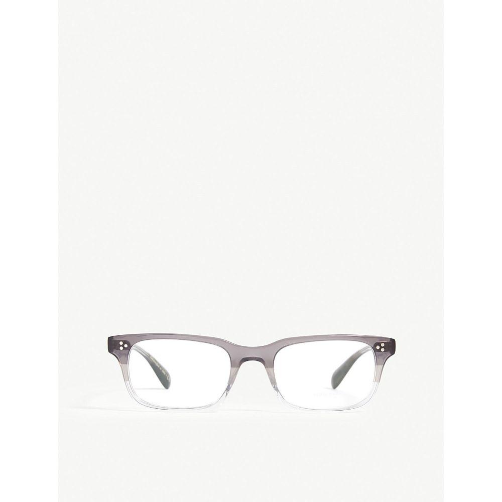オリバーピープルズ OLIVER PEOPLES メンズ メガネ・サングラス 【Square optical glasses】Grey