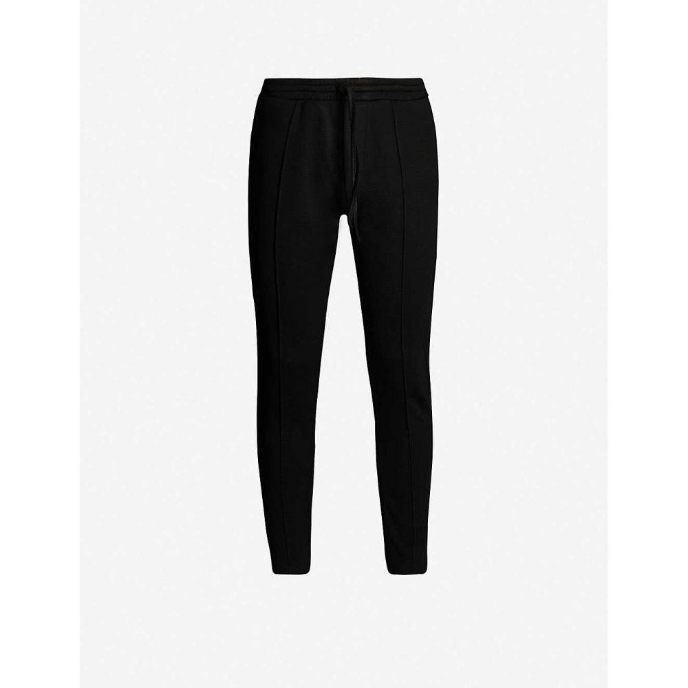 プレヴ PREVU メンズ スウェット・ジャージ ボトムス・パンツ【Core cotton-jersey jogging bottoms】Black