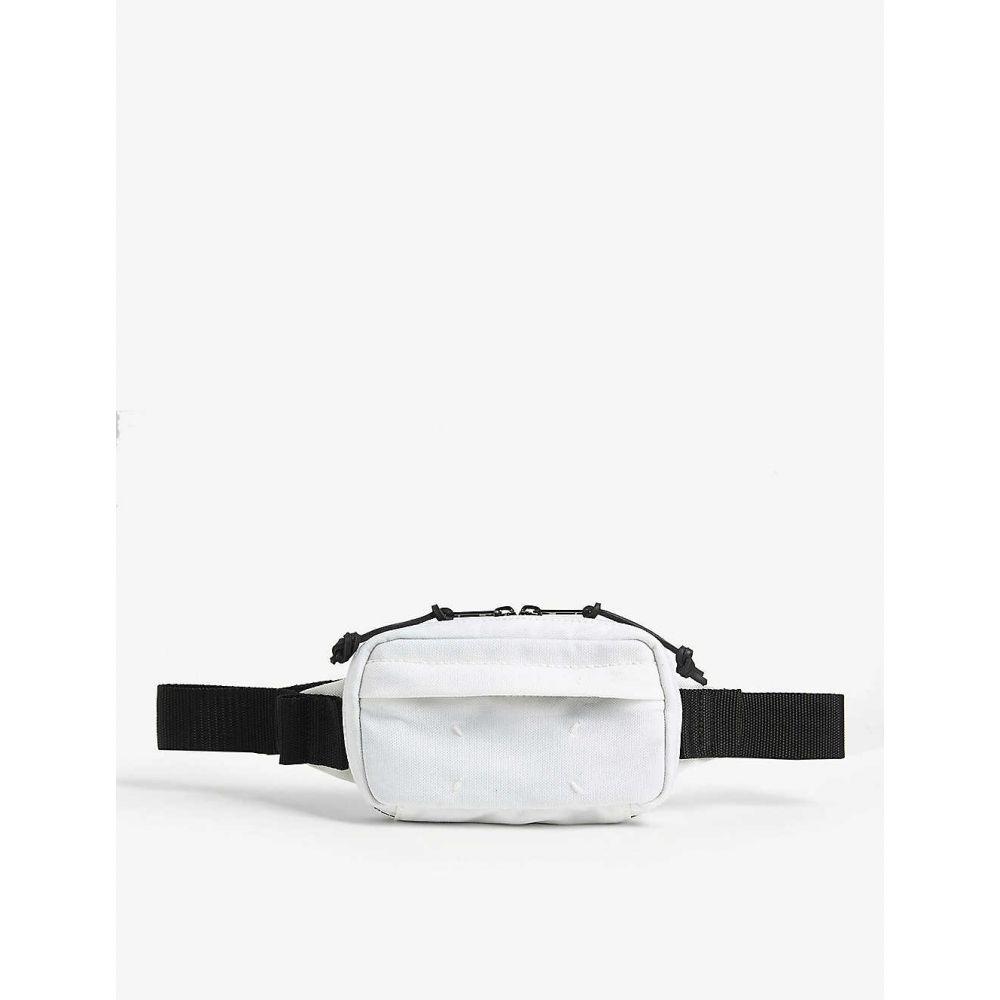 メゾン マルジェラ MAISON MARGIELA メンズ ボディバッグ・ウエストポーチ バッグ【Canvas belt bag】White