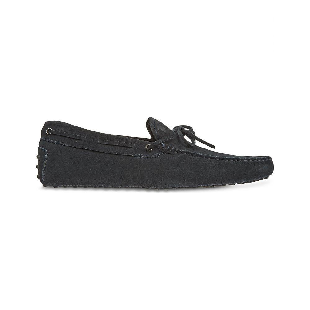 トッズ TODS メンズ ドライビングシューズ シューズ・靴【Gommino heaven driving shoes in suede】Black