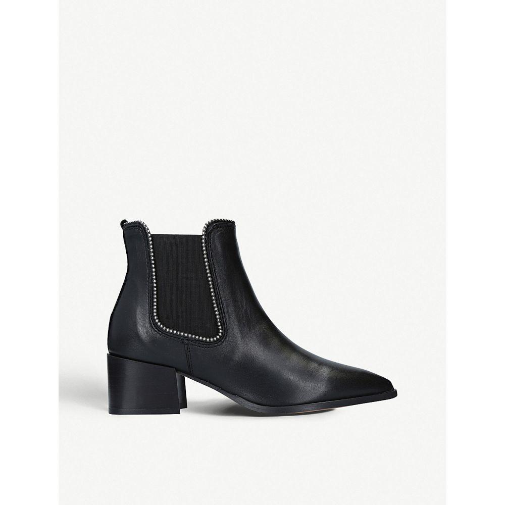 カーベラ CARVELA レディース ブーツ チェルシーブーツ シューズ・靴【Spire studded leather chelsea boots】Black