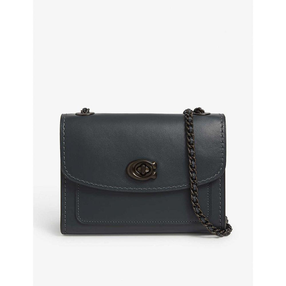 コーチ COACH レディース ショルダーバッグ バッグ【Parker 18 mini leather shoulder bag】V/pine Green
