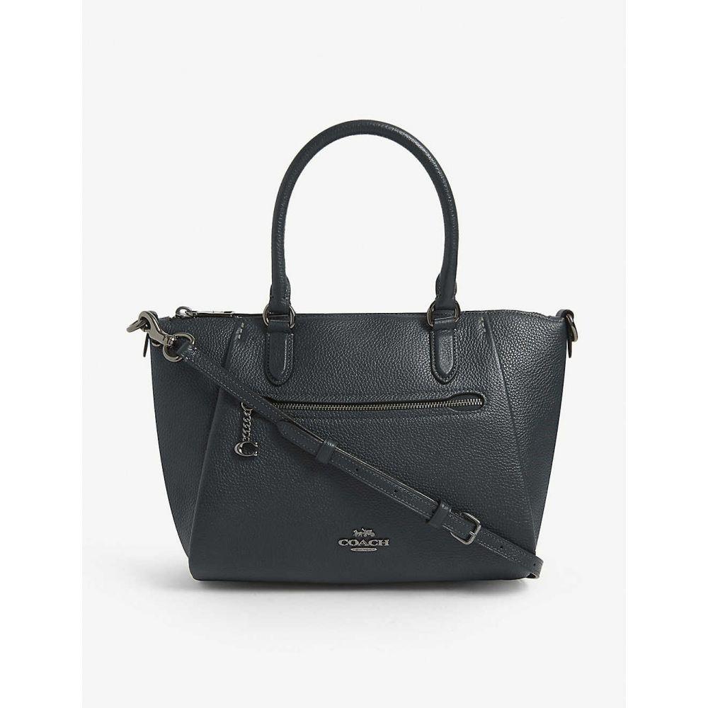 コーチ COACH レディース ショルダーバッグ サッチェルバッグ バッグ【Elise leather cross-body satchel】Gm/pine Green