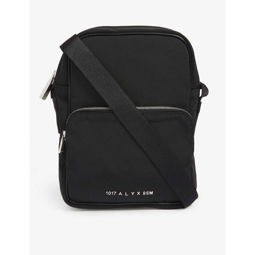 アリクス 1017 ALYX 9SM レディース ショルダーバッグ カメラバッグ バッグ【Embossed logo vertical nylon camera bag】BLACK