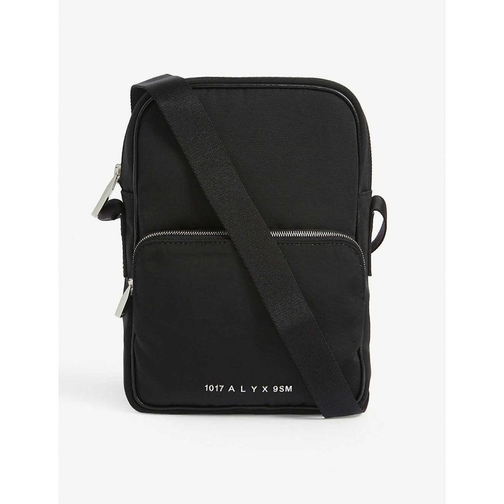 アリクス 1017 ALYX 9SM レディース ショルダーバッグ カメラバッグ バッグ【Vertical logo-print camera bag】Blk/black