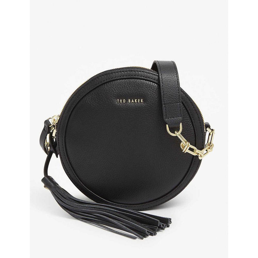 テッドベーカー TED BAKER レディース ショルダーバッグ バッグ【Errinn circle leather crossbody bag】BLACK