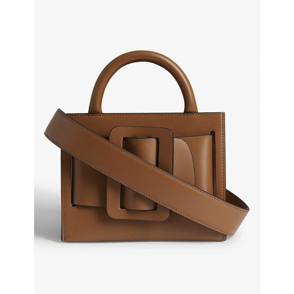 ボーイ BOYY レディース ショルダーバッグ バッグ【Bobby leather shoulder bag】Tobacco /Gld Hrdwr