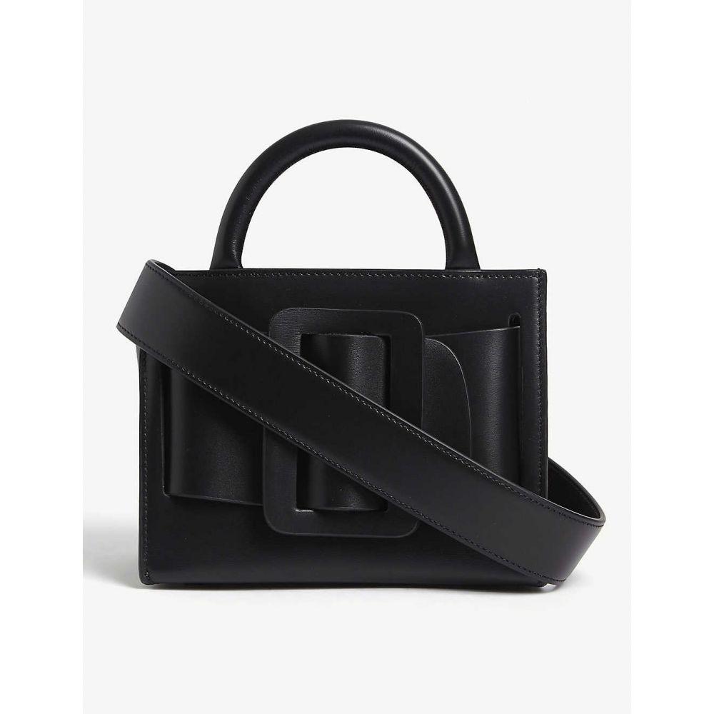 ボーイ BOYY レディース ショルダーバッグ バッグ【Bobby leather shoulder bag】BLACK /BLACK