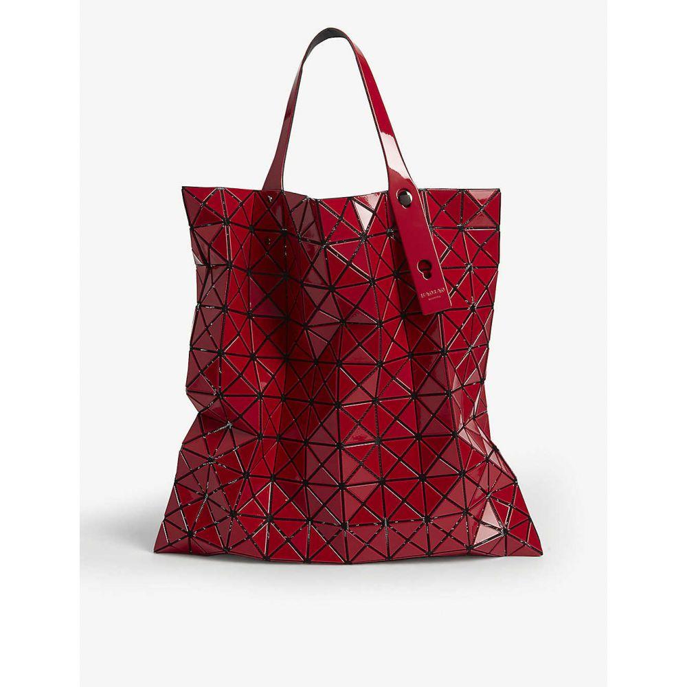 イッセイ ミヤケ BAO BAO ISSEY MIYAKE レディース トートバッグ バッグ【Prism glossy tote bag】Red