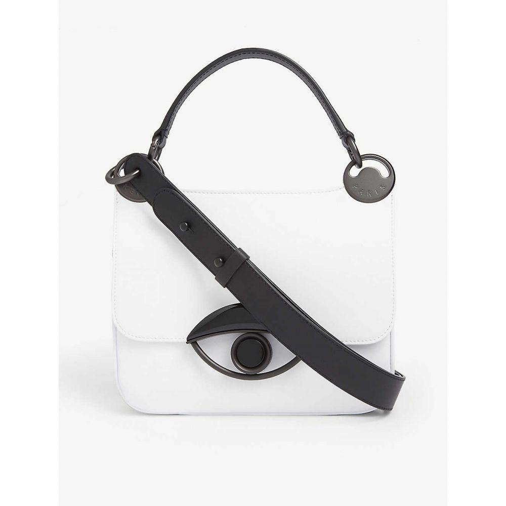 ケンゾー KENZO レディース ショルダーバッグ バッグ【Tali medium leather cross-body bag】White