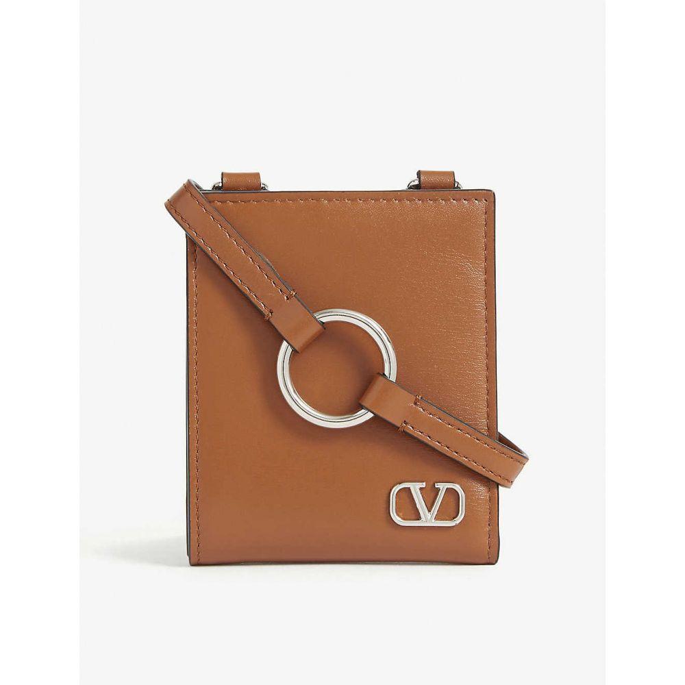 ヴァレンティノ VALENTINO メンズ 財布 【Leather neck wallet on strap】Selleria