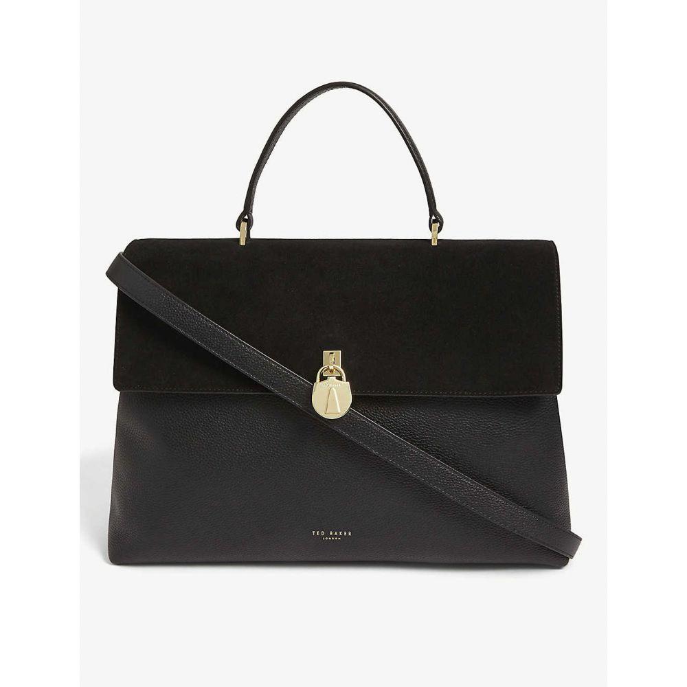テッドベーカー TED BAKER レディース トートバッグ バッグ【Madyy padlock tote bag】BLACK
