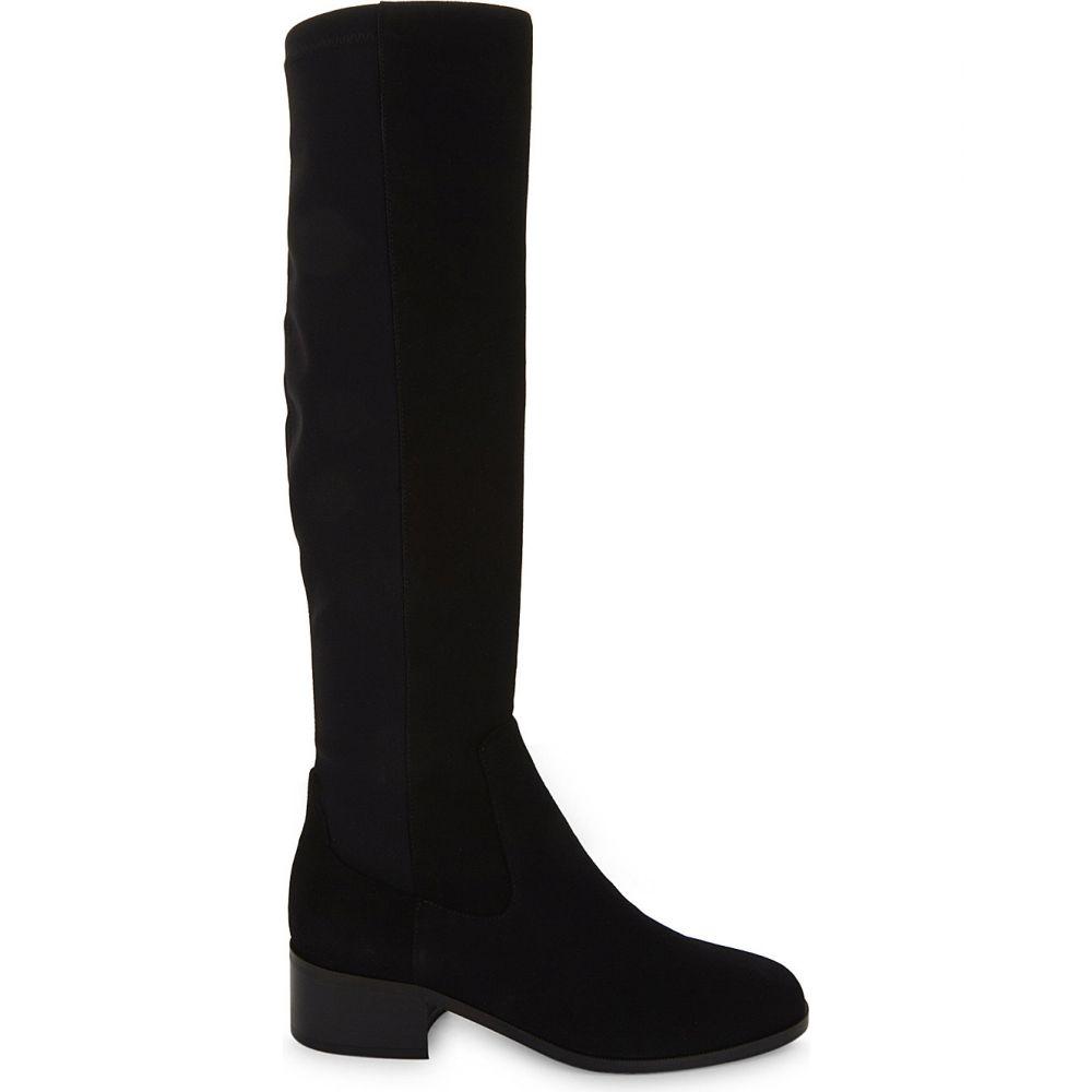 エルケーベネット LK BENNETT レディース ブーツ シューズ・靴【Bella stretch suede knee boots】BLA/BLACK