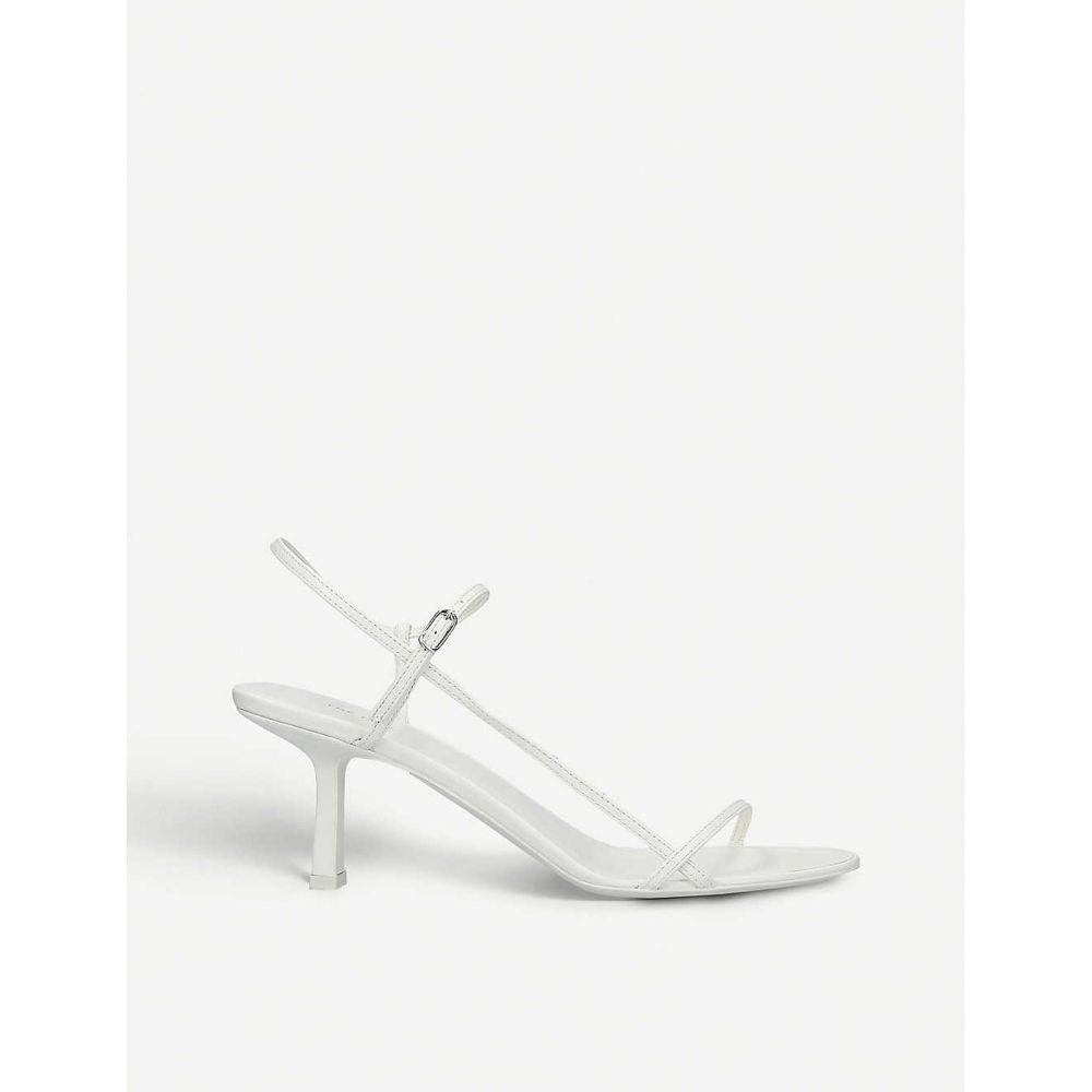 ザ ロウ THE ROW レディース サンダル・ミュール シューズ・靴【Bare leather sandals】WHITE
