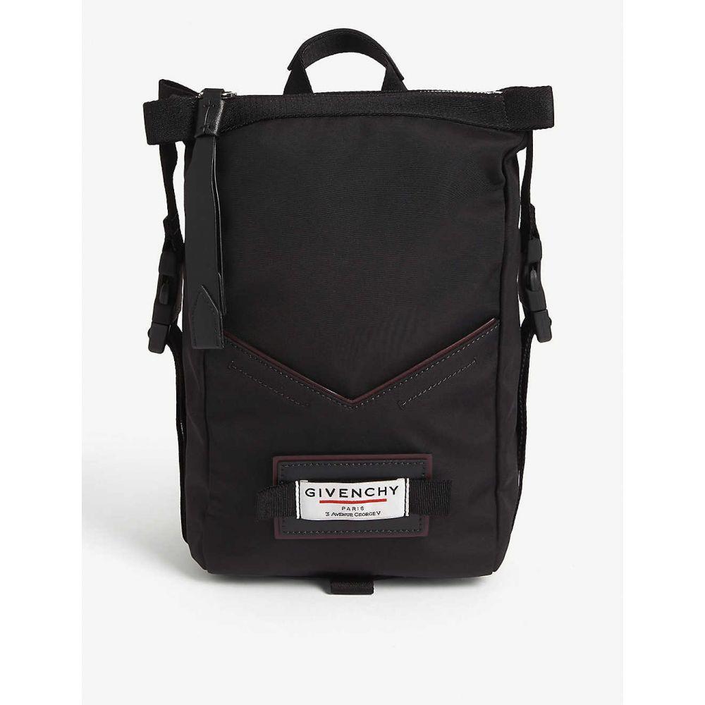 ジバンシー GIVENCHY レディース バックパック・リュック バッグ【Downtown mini winged nylon backpack】BLACK