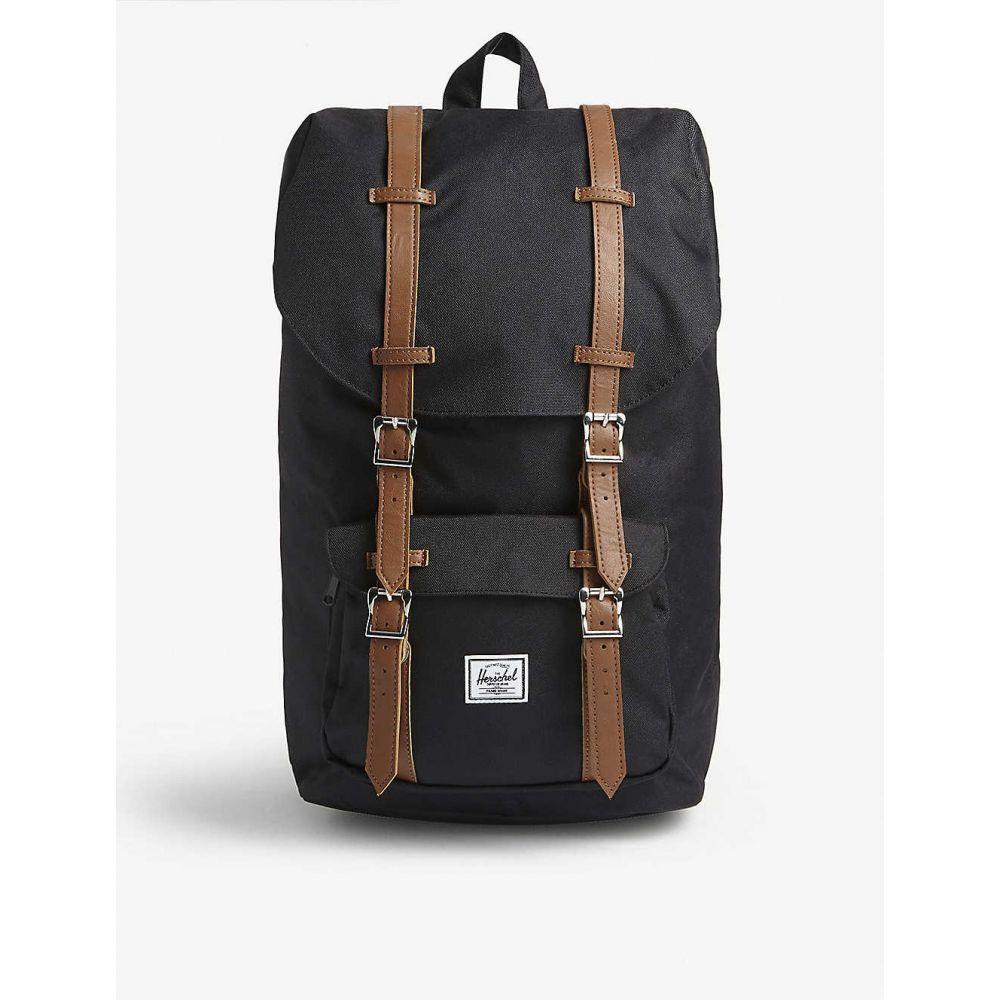 ハーシェル サプライ HERSCHEL SUPPLY CO レディース バックパック・リュック バッグ【Little America backpack】BLACK/TAN