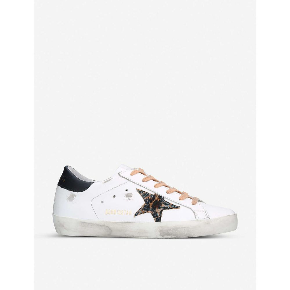 ゴールデン グース GOLDEN GOOSE レディース スニーカー シューズ・靴【Superstar T54 leather trainers】WHITE/OTH