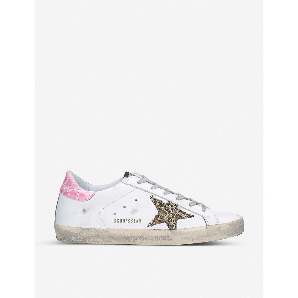 ゴールデン グース GOLDEN GOOSE レディース スニーカー シューズ・靴【Superstar S58 leather trainers】WHITE/OTH